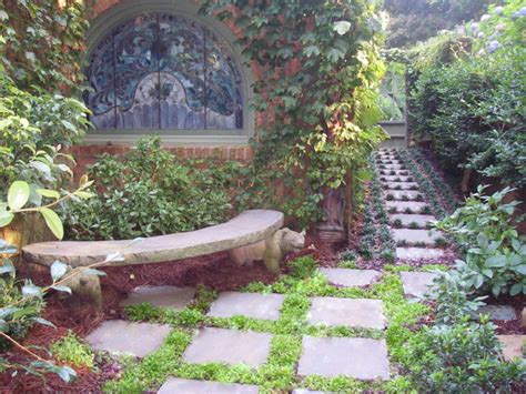 prayer garden quiet place  sit traditional