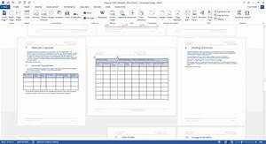 Capacity Plan Template  Ms Word   U2013 Templates  Forms