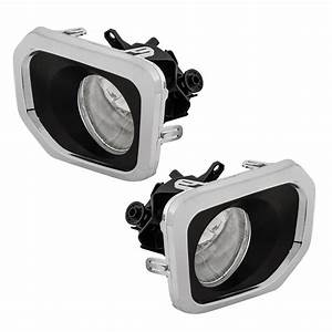Left Right Fog Lights For 2016 2017 2018 Toyota Tacoma W