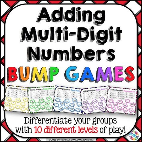 multi digit addition bump games games  gains