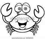 Crab Cartoon Drawing Clipart Coloring Draw Illustration Trap Template Vector Drawings Sketch Getdrawings Imagen Ocean Colorear Para Imagenes Horseshoe Xiphosura sketch template
