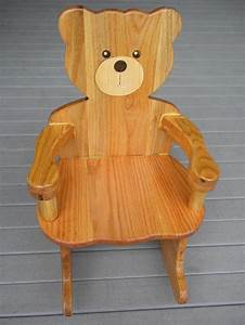 plans for Teddy Bear Rocking Chair Plan - Rated 4 Stars
