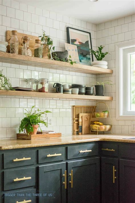 Kitchen Open Shelves Images by Diy Open Shelving Kitchen Guide Your Best Diy Projects