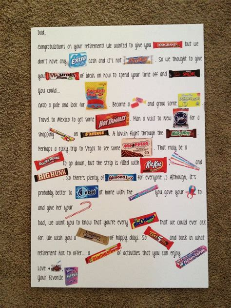Retirement Candy Bar Poster Sayings Pictures To Pin On. Postcard Invitation Template Free. Usmc Boot Camp Graduation. Puppy Sales Contract Template. Contractor Proposal Template Pdf. Scientific Poster Template Powerpoint. Excel Mailing List Template. Graduation Cap Top Size. Free Bar Graph Template