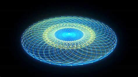 oscilating dual torus animation  ioie soundscape
