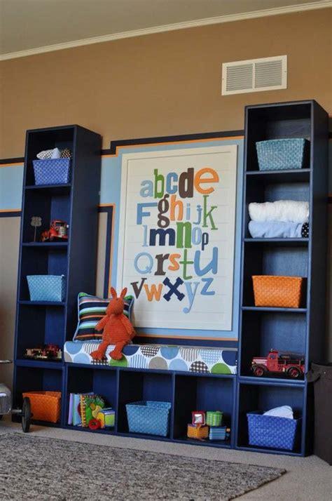 diy  ways  organize kids room