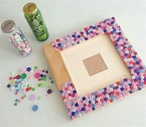 Cadre à Décorer : fabriquer un cadre photo 60 id es pour un objet valeur ~ Zukunftsfamilie.com Idées de Décoration