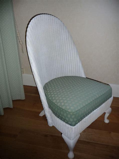 vintage lloyd loom nursing chair in barton on sea
