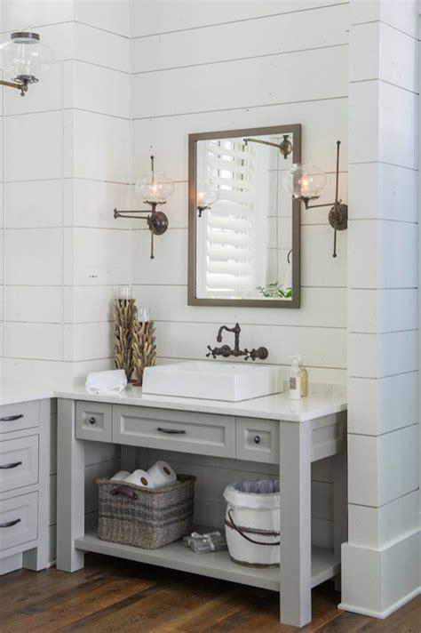farmhouse bathroom sconce 6 inspiring bathrooms favorites Farmhouse Bathroom Sconce