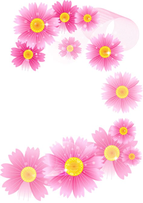 pink flowers full transparent clipart gallery yopriceville high