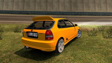 Honda Civic Hatchback Modification by Honda Civic Hatchback V2 Car Mod Ets2 Mod