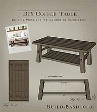 build a coffee table DIY Coffee Table by Build Basic – Project Opener – Drawing ...