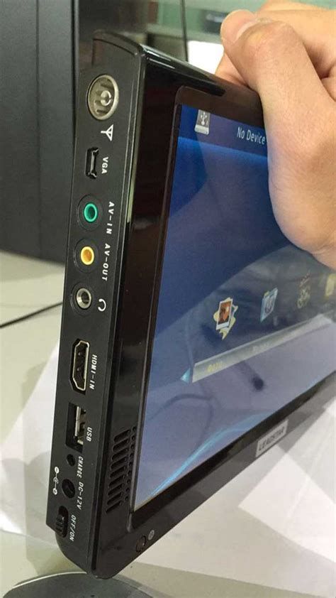 portable hd tv dvb  mpeg  hevc  tv