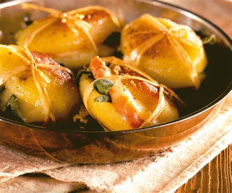 recette de cyril lignac paupiettes de pommes de terre