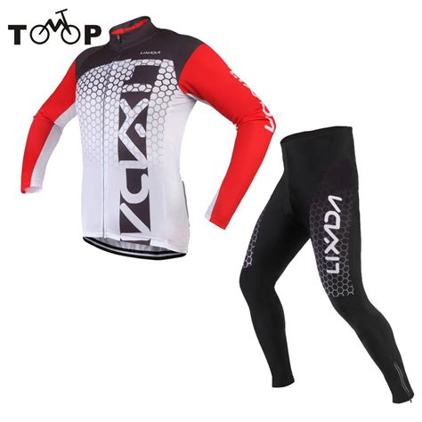 bike clothing lixada cycling clothing long sleeve cycling jersey