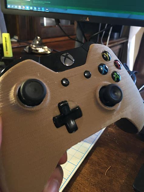 gast print een houten xbox  controller power unlimited