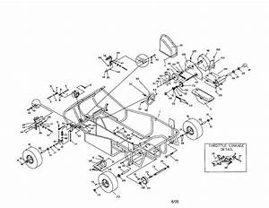 31 Manco Go Kart Parts Diagram