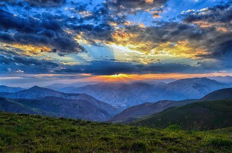 sunset dawn nature  photo  pixabay