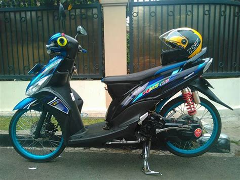 Modifikasi Motor Yamaha Mio J by Modifikasi Simple Motor Yamaha Mio J M3 Soul Gt