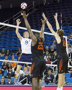 No. 2 UCLA men's volleyball sweeps Princeton with shifted ...