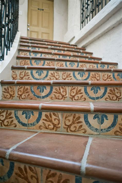 mexican tile   spanish style decor home