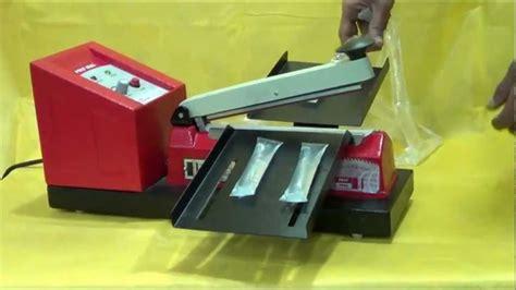 lolly pop operated liquid sealer