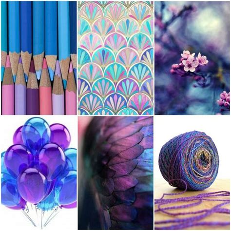 Mood Board Monday  Blue To Purple  Monday Blues, Flower