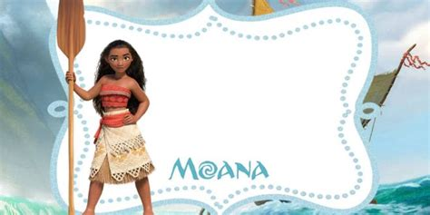 printable moana invitation template bagvania