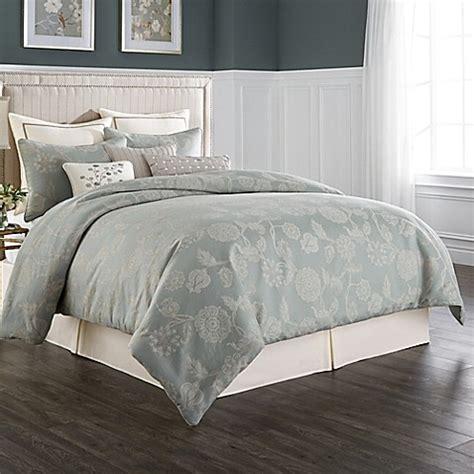 buy wamsutta 174 chelsea full comforter set in sea glass