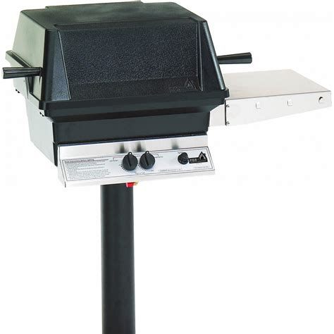 gas grills pgs a30 cast aluminum natural gas grill on in ground post bbq guys