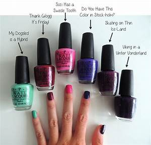 OPI Nordic Collection  Opi