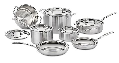cookware steel mcp cook stainless cuisinart check utensils piece 12n pan sets pot amazon types such awesome food ceramic