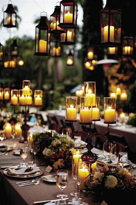 Tischdeko Scheune by Hochzeitskerzen Romantische Warme Licht