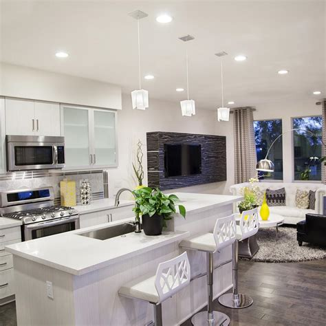 30 stylish light fixtures for your kitchen 30 photos. 14 Ideas on How to Light a Large Kitchen | YLighting Ideas