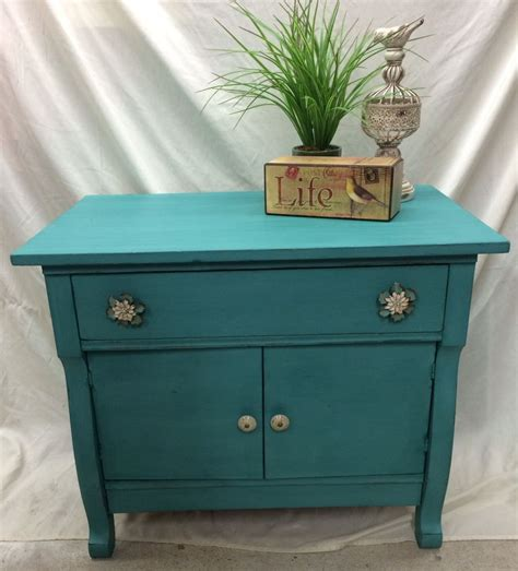turquoise side table hometalk turquoise painted side table 2971