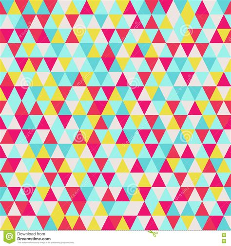 Seamless Triangle Pattern Geometric Abstract Texture