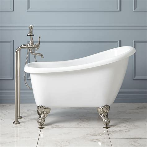 clawfoot tub bathroom ideas 43 quot mini acrylic clawfoot tub tubs acrylics and