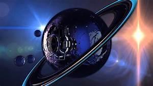 NASA probe voyager looking for black hole GALAXY SATURN ...