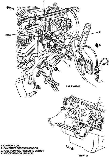 Location Camshaft Sensor Chevy Engine