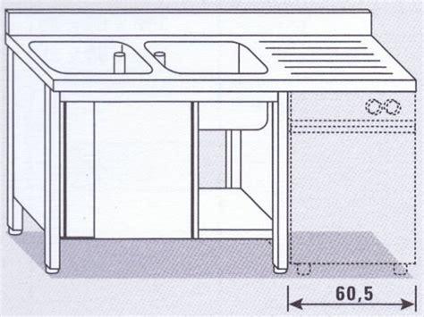 Lavastoviglie Doppio Ingresso by Lavello Due Vasche Su Armadio Per Lavastoviglie