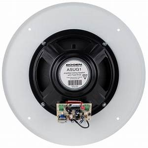 Bogen Asug1 Powered 8 U0026quot  Ceiling Speaker 1w With Fixed