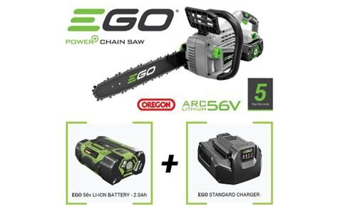 EGO Power Plus Chainsaw, 2Ah Battery and Charger   Gardenlines