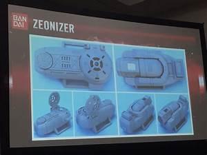 Legacy Psycho Ranger Figures  Legacy Zeonizer  Legacy Gold