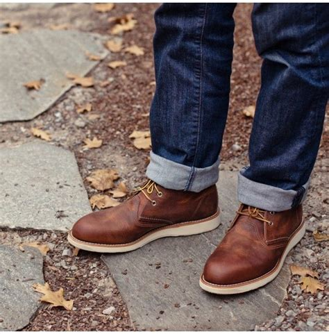 Redwing Work Chukkas Footwear Men Apparel