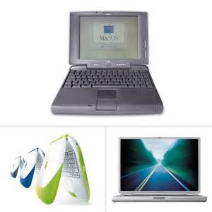 Old Apple Computers Laptop