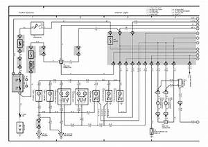 2004 Toyota Sienna Electrical Schematic