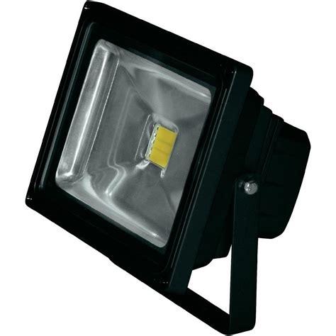 projecteur led ext 233 rieur lumihome dec gl20bc 20 w blanc chaud noir vente projecteur led
