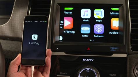 Ford Sync Maps by Ford Sync 3 Apple Carplay Demonstration Using Maps