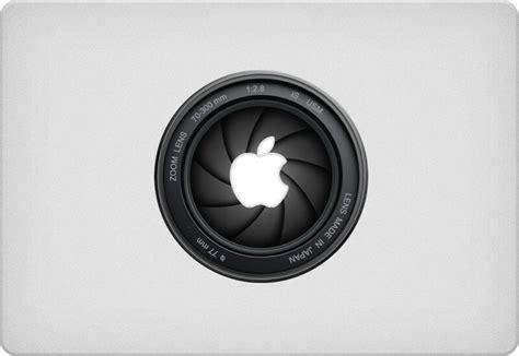 cool camera decals  stickers   macbook