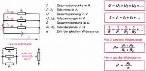 Widerstand Berechnen Reihenschaltung : reihenschaltung parallelschaltung spannungsteiler ~ Themetempest.com Abrechnung
